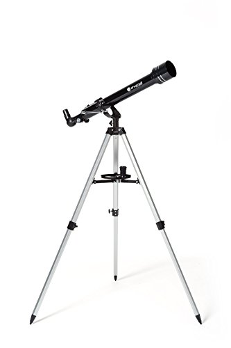 Zhumell 60mm AZ Refractor Telescope,ZHUN001-1,Black