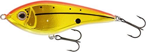 Westin Swim 12cm 53g suspending - Jerkbait zum Spinnfischen auf Hecht & Zander, Hechtjerkbait, Hechtköder zum Jerkbaitangeln, Farbe:Chopper GFR