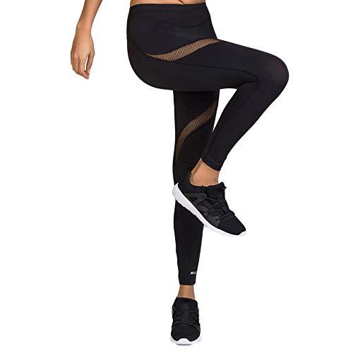 Shock Absorber Damen Sport Active Legging, Schwarz (Noir), W42 (Herstellergröße: Taille fabricant L)