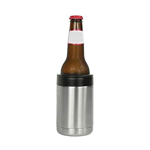 MINGMIN-DZ Durable Cubo del Enfriador de Vino de Acero Inoxidable Botella de Doble Pared Botella de Vino Soporte de Enfriador Champagne Cooler Chiller Chiller Hielo Cubo de Hielo Herramienta