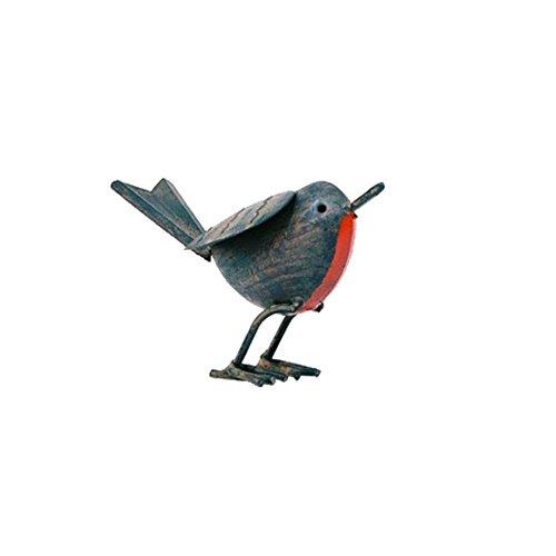 Metallic Robin Ornament