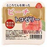 マルヤス食品 トコゼリー ピーチ 130g×3個  JAN:4978141000035