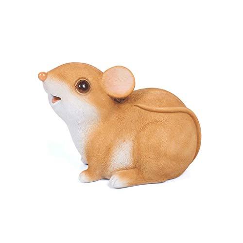 ZYYH Bancos de Dinero Lovely Little Mouse Piggy Bank Resina, niños y Adultos Money Banks Coin Banks, Juguetes bancarios para niñas y...