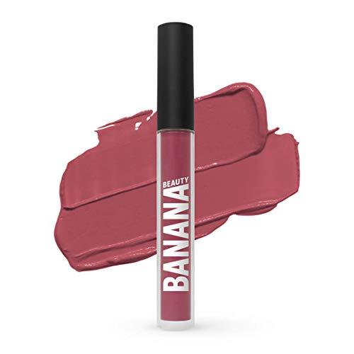 Banana Beauty Lady Licious (3 ml) – Semi Matte Liquid Lipstick – kussechter Lippenstift matt...