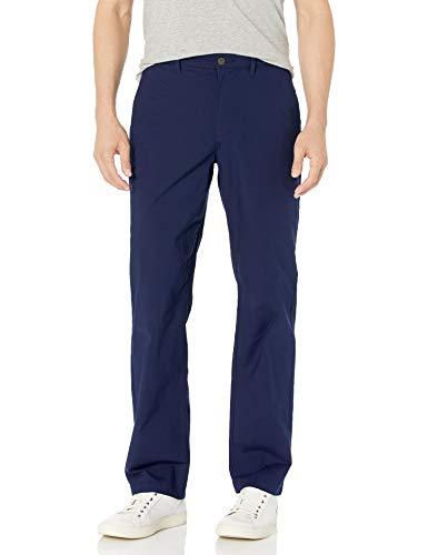 Amazon Essentials Leichte Stretch-Hose mit normaler Passform Casual-Pants, Marineblau, 38W x 30L