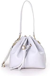 Silvio Torre حقيبة يد - حقيبة كتف جلد بيضاء للنساء st-s8-white