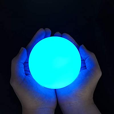 Chakev Floating Pool Lights, 16 Colors Pond LED Ball Lights with Remote Control, Waterproof Cordless Hot Tub Lights Kids Night Light Ball Lamp for Pool Garden Backyard Lawn Beach Party Decor