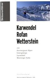 Skitourenführer Karwendel, Rofan, Wetterstein