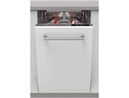SHARP - Lave vaisselle tout integrable 45 cm SHARP QWI1GI47EX - QWI1GI47EX