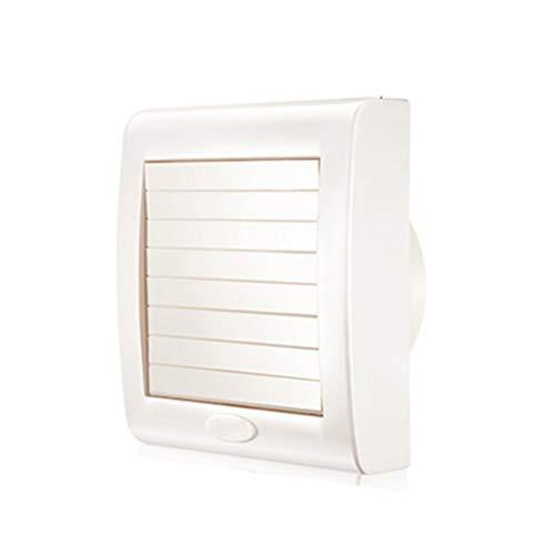 Release Ventilador Extractor de baño, Extractor de Cocina Ventilador de Pared de Ventana de baño/Cocina/Sala de Estar de Alta Velocidad Circular de 4/5/6 Pulgadas (Size : 6 Inches)