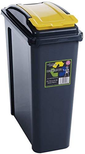 Wham Recycling Bin 25Ltr Yellow (300138)