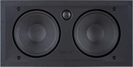 Sonance Black Visual Performance Series In-Wall Square Speakers - VP62LCR (Single)