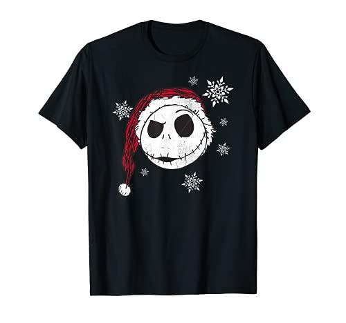 Disney Nightmare Before Christmas Snowflake Holiday T-Shirt