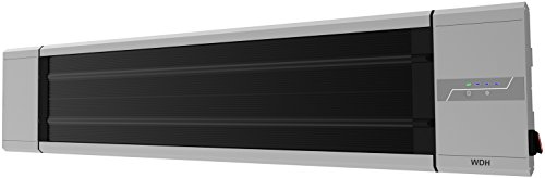 bester der welt Dunkle Actbis-Heizung, schwarze Heizung, Terrassenheizung, Balkonheizung WDH-180DS (2.400… 2021