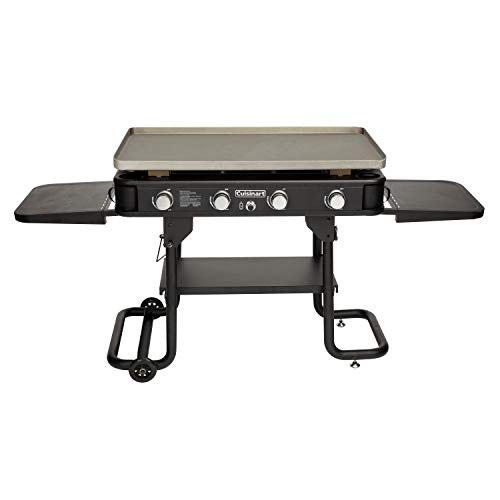 """Cuisinart CGG-0036 4-Burner, 36"""" Gas Griddle, Black"""