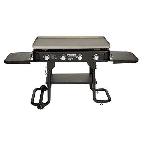 Cuisinart CGG-0036 4-Burner, 36' Gas Griddle, Black