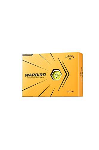キャロウェイ(Callaway) ゴルフボール WARBIRD 1ダース 12個入 2021年モデル イエロー 6421558120044