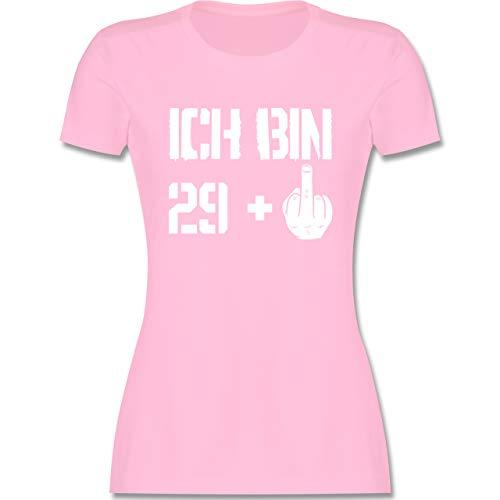Geburtstagsgeschenk Geburtstag - Ich Bin 29 + - S - Rosa - t Shirt 29+ - L191 - Tailliertes Tshirt für Damen und Frauen T-Shirt