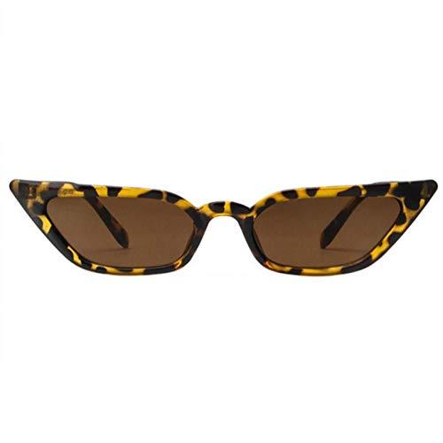 generio Gafas de sol de ojo de gato para mujer Gafas de sol transparentes de lujo vintage para mujer Gafas de sol negras rojas rojas retro