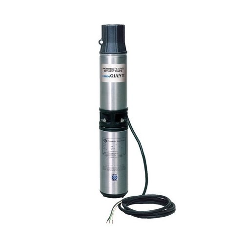 Little Giant WE20G05P4-21 Submersible Pump, black