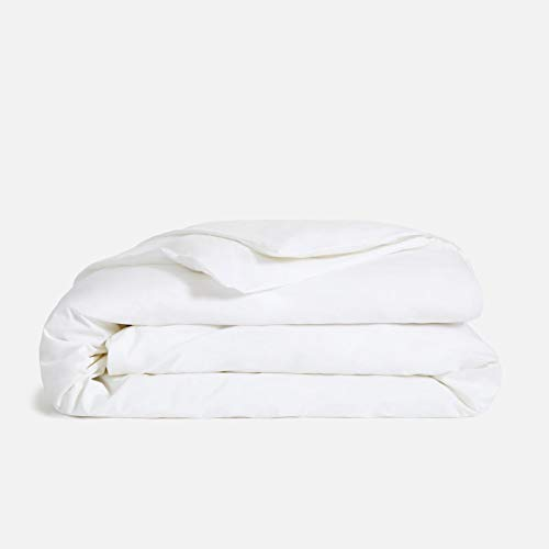 Comfy Sheets Luxury 100% Egyptian Cotton - Genuine 1000 Thread Count 5 Piece Queen White Duvet Cover Set.