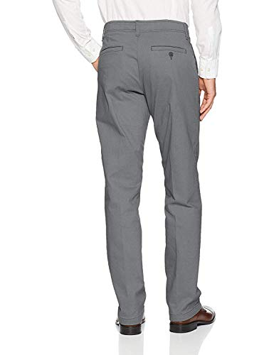 Lee Men's Performance Series Extreme Comfort Straight Fit Pant, Vintage Gray, 40W x 32L