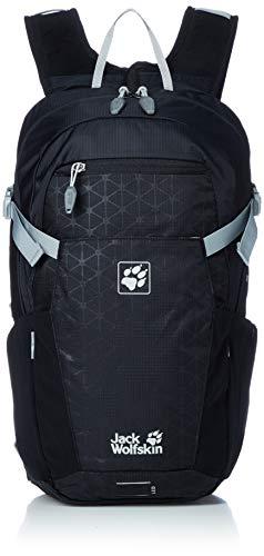 Jack Wolfskin ALLEYCAT 18 Pack Rucksack, Black Grid, ONE Size