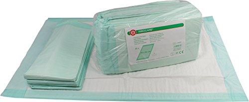 RIBOCARE® Krankenunterlagen, Inkontinenzunterlagen, 4-lagig, 40x60cm, 30 St.