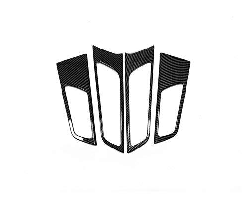 Reunion Adatta per Hyundai Tucson 2015-2018 2019 Fibra di Carbonio Porta Auto Pescola Interna Maniglia Interna Copricapo Protezione Trim Accessori Interni Accessori Styling