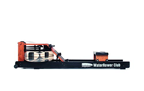 WaterRower Club Remo, Adultos Unisex, Fresno Negro, 210 x 56 x 53 cm