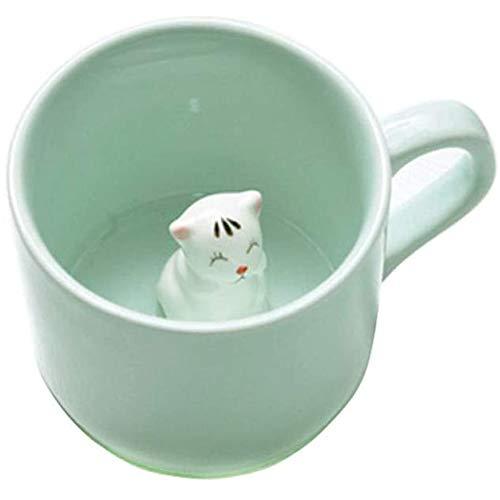 Koffie Melk Thee Keramische Mok - 3D Animal Morning Cup Beste geschenk Voor Ochtend drank en bruiloften, verjaardagen, Vaderdag