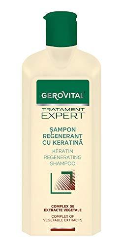 Gerovital Tratament Expert, CHAMPÚ REGENERADOR CON KERATINA, 400ml