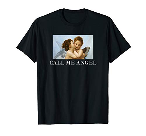 Call me Angel - Vintage Engel T-Shirt