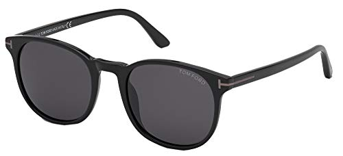 Tom Ford Gafas de Sol ANSEL FT0858-N Shiny Black/Grey 51/20/145 hombre