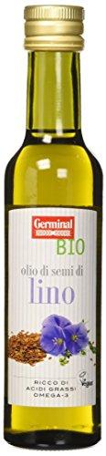 Germinal Bio Olio di Semi di Lino - 250 ml