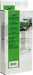 Club TT-netgarnituur sunflex Club voor alle sunflex tafeltennis-tafels, eenvoudige uitvoering, nylonnet, lengte ca. 180 cm, in kartonnen verpakking.