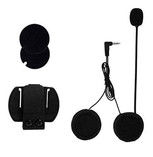 VNETPHONE® Clip Micrófono Auriculares para V6 Motocicleta Casco Bluetooth Intercomunicador Interphone