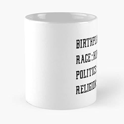 Quotes Relegion - Taza de café de cerámica con texto en inglés 'Dad' para la Tierra, con frase en inglés 'Día' y texto en inglés 'My Dad'
