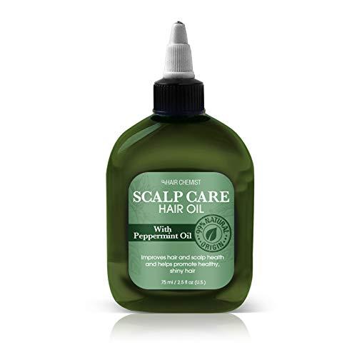 Hair Chemist Cheveux soin du cuir chevelu avec huile de menthe poivrée 75 ml (Pack of 3)