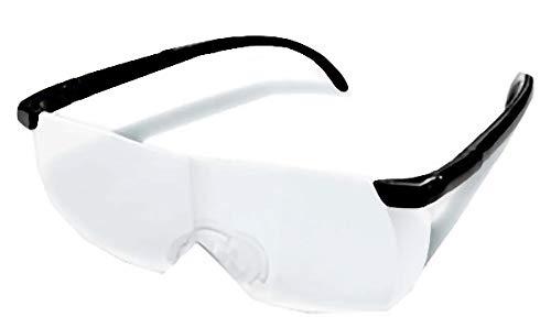 拡大鏡 メガネ型ルーペ AXL-136【まとめ買い24個セット】