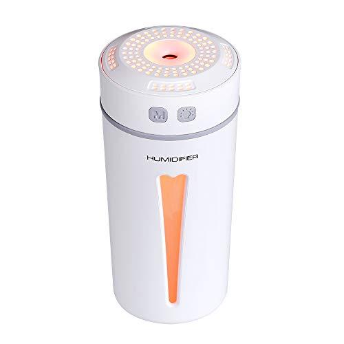 Humidificador USB, Mini Humidificador PortáTil MultifuncióN Botella De Agua Humidificador De Bajo Ruido Humidificador Negativo Viaje Familiar HabitacióN Infantil Hotel Oficina Coche