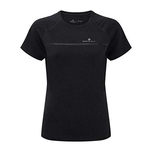 Ronhill RH-002239 T-Shirt de Course Femme, Charcoal/Marl, FR (Taille Fabricant : XL)