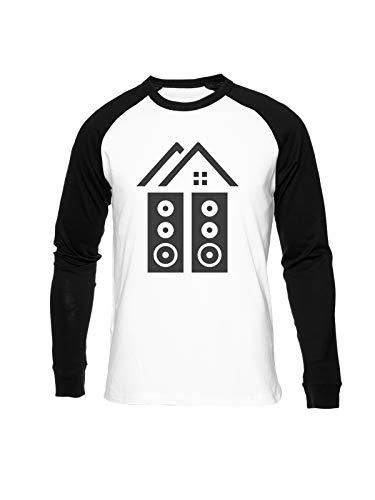 Fioze Joyhouse LLC Camiseta Béisbol Unisex Cuello Redondo Baseball Unisex T-Shirt