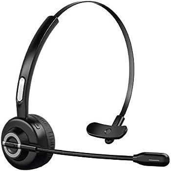 Knofarm On-Ear Noise Canceling Bluetooth Headphones with Microphone
