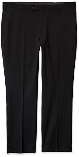 Arrow Men's High Twist Dress Pant, 001 Black, 34/30