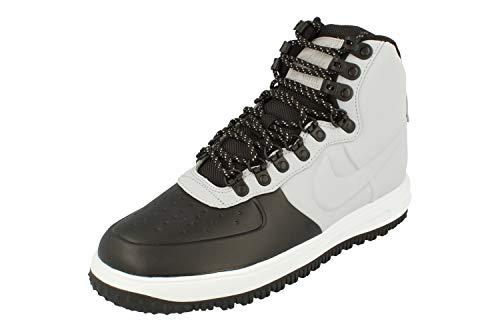 Nike Lunar Force 1 Duckboot 18 Hombre Trainers BQ7930 Sneakers Zapatos (UK 8 US 9 EU 42.5, Black Wolf Grey Pure Platinum 002)