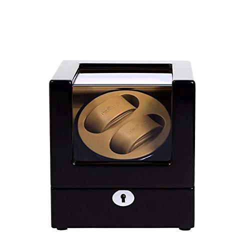 XLAHD Caja enrolladora automática para Relojes Caja enrolladora automática Doble, alimentada por batería enrolladora automática para 2 Relojes, enrolladora para Relojes
