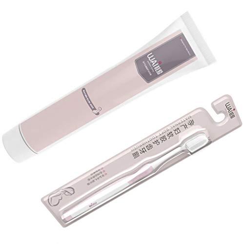 Healifty Extra Zahnbürste für Empfindliche Zahnfleisch Borsten Manuelle Zahnbürste Und Zahnpasta für Schwangere Frauen 1 Set