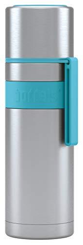 Bouteille isotherme HEET 500 ml - Votre thermos pour les déplacements (bleu turquoise)