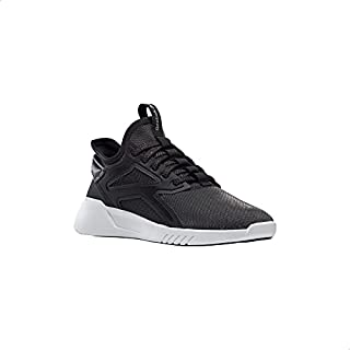 Reebok Freestyle Motion LO Contrast Sole Lace-Up Dancing Shoes for Women - Black and White